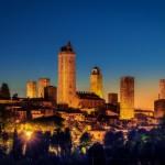 alba a San Gimignano (SI)